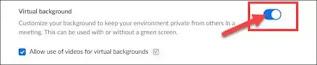 طريقة تخصيص وإستخدام الخلفيات الإفتراضة في تطبيق Zoom
