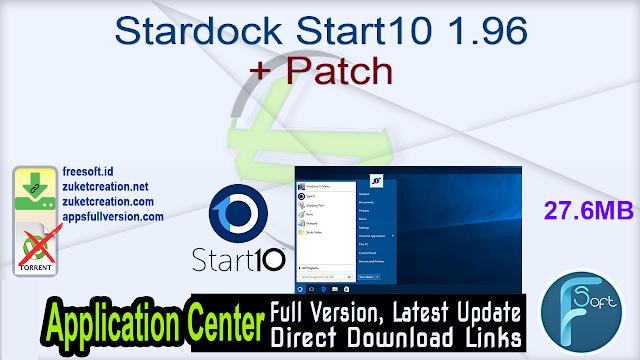 Stardock Start10 1.96 + Patch