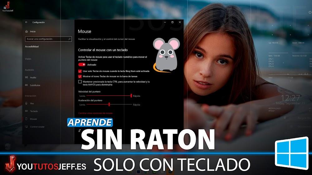 Como Usar Windows 10 Sin Ratón Mouse