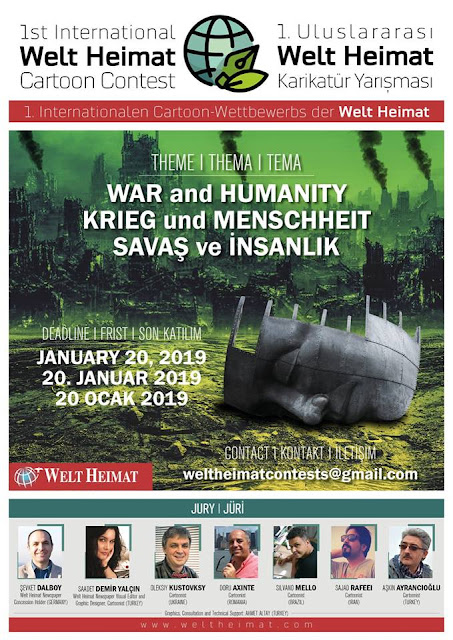 "1st Welt Heimat ""War and Humanity"" International Cartoon Contest"