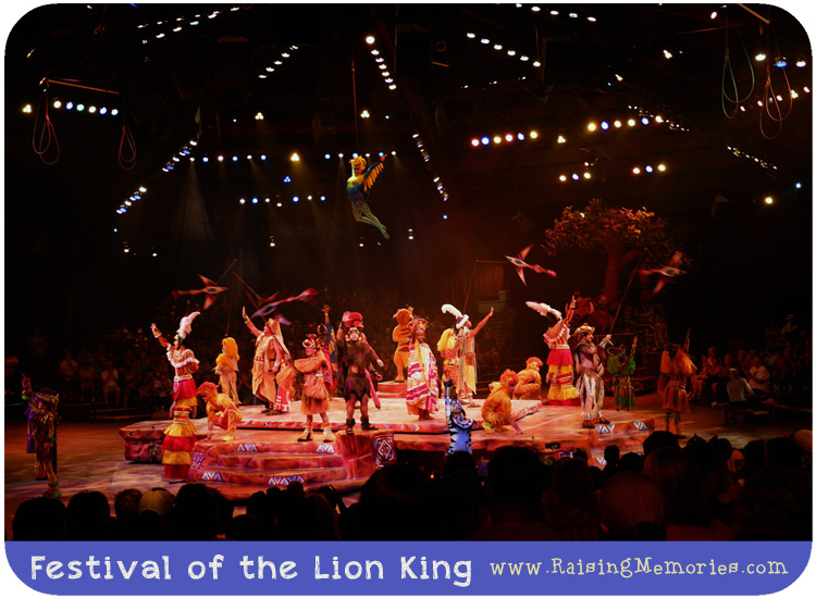 Festival of the Lion King Show Animal Kingdom Review