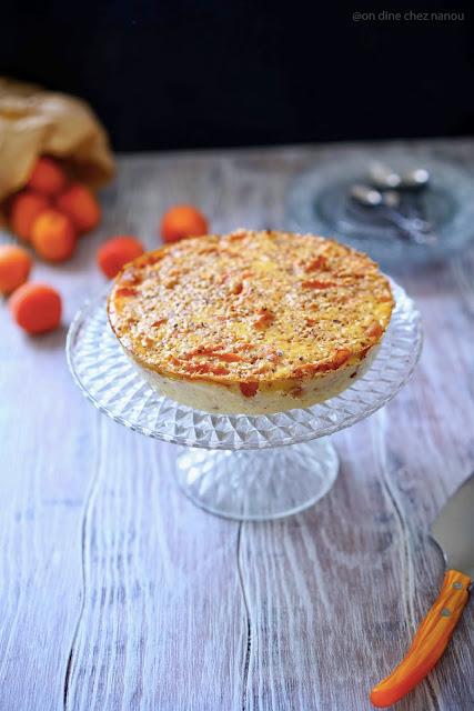 abricots , dessert aux fruits , ricotta , sans gluten , gâteau facile , rapide