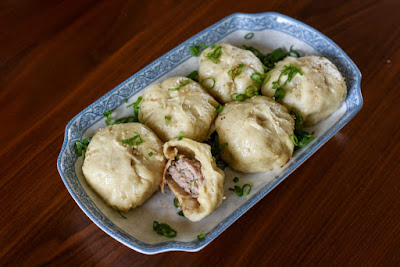 Pan fried Pork Bun 1$ Foods Around the World
