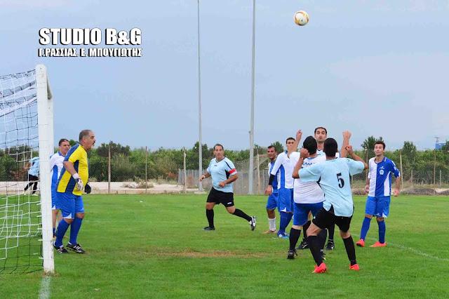 Έπαιξαν μπάλα οι αστυνομικοί της Αργολίδας και της Λακωνίας