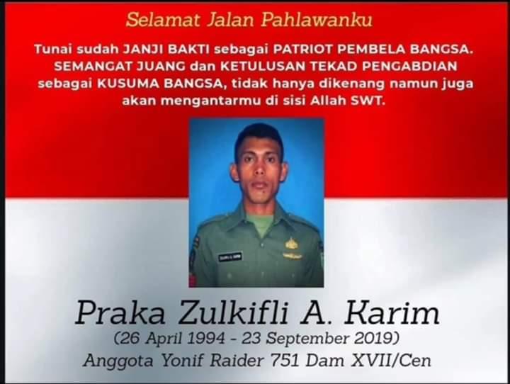 Usai Selamatkan Warga di Wamena, Prajurit TNI Dikeroyok Ditusuk Kepalanya
