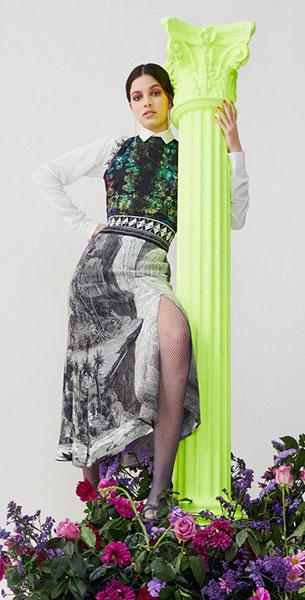 vestido mujer Desigual Lacroix