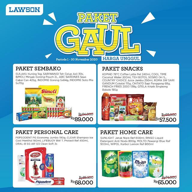 Promo Katalog Hemat Paket Harga Unggul ( GAUL ) Periode 01 - 30 November 2020