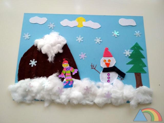 Collage de invierno