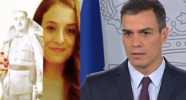 Gloria Santiago y Pedro Sánchez
