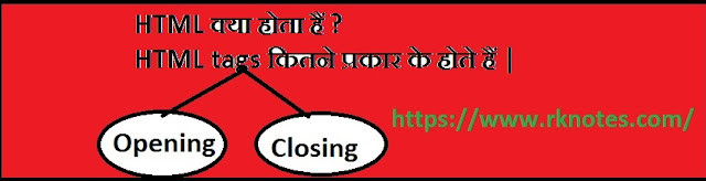 HTML Definition and its tags in hindi