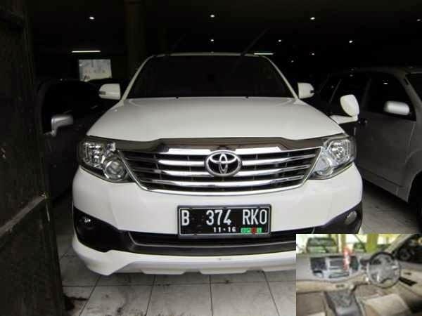 Dijual mobil bekas Toyota Fortuner 2.5 G Diesel