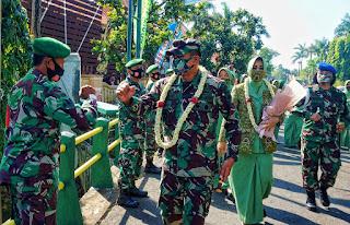 Kunjungan Kerja Danrem 073 Makutarama Di Kodim 0719 Jepara.
