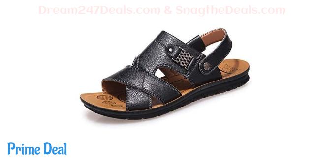 Mens Flat Sandals 50% off