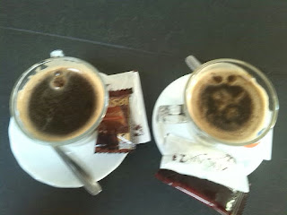 2 Asiáticos, café típico de la ciudad de Cartagena