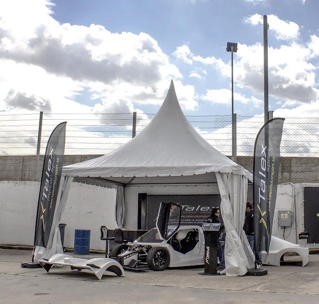 Foto Carpa Talex Motor Sport en el circuito del Jarama