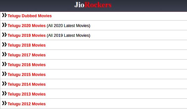 Jio Rockers Telugu 2021 Movies Download