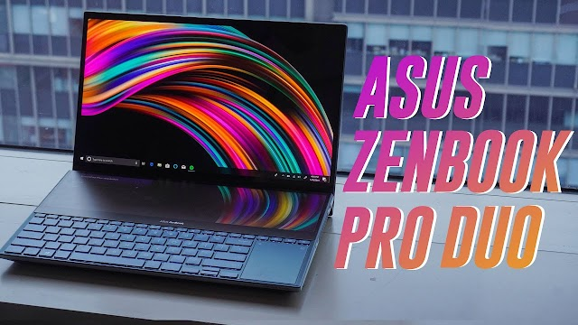 Asus ZenBook Pro Duo outperforms Apple's Touch Bar on 4K