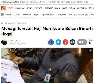 haji non kuota