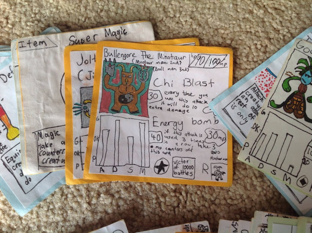 Kid Brothers Were Too Poor To Buy Card Games So Instead, They Made Their Own