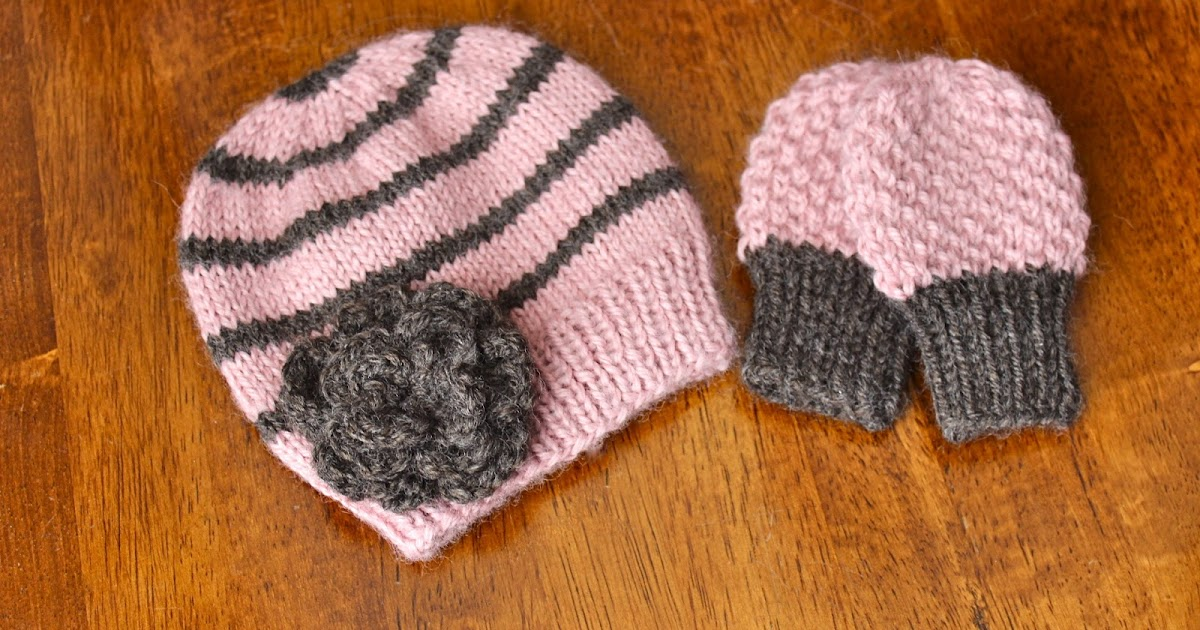 I D Rather Be Knitting Winter Baby Gift Set