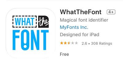 Aplikasi WhatTheFont