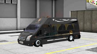 Mobil Transit Limosin, Model Kendaraan Bus Simulator Indonesia!