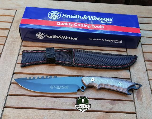 Cutit Smith & Wesson Supravietuire Vanatoare