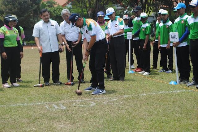 WOODBALL, CABOR BARU DI INDONESIA, JATIM PERSIAPKAN DI PON PAPUA 2020