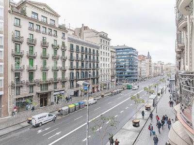 Render del resultat de l'actuació a la ronda Universitat. Imatge: Ajuntament de Barcelona.