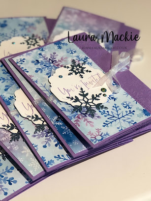 Frozen style party invites