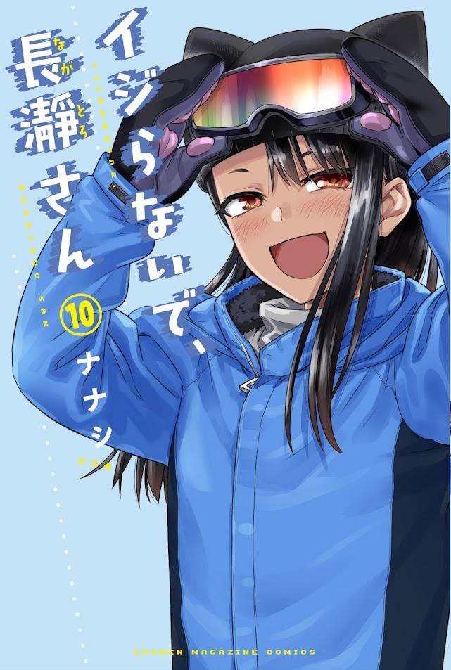 Manga Ijiranaide, Nagatoro-san-Portada de su volumen 10