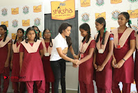 Actress Priya Anand with the Students of Shiksha Movement Event .COM 0016.jpg