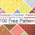 Tunisian Crochet 100 Patterns