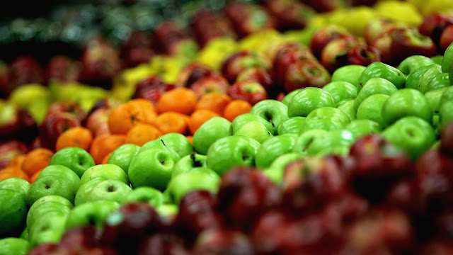 why fruit is at the front of supermarket entrances