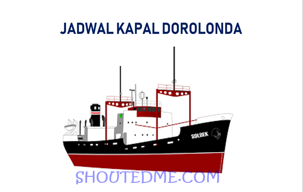 jadwal kapal dorolonda Desember 2018