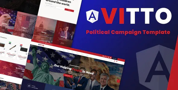 Best Voting Election Angular Template