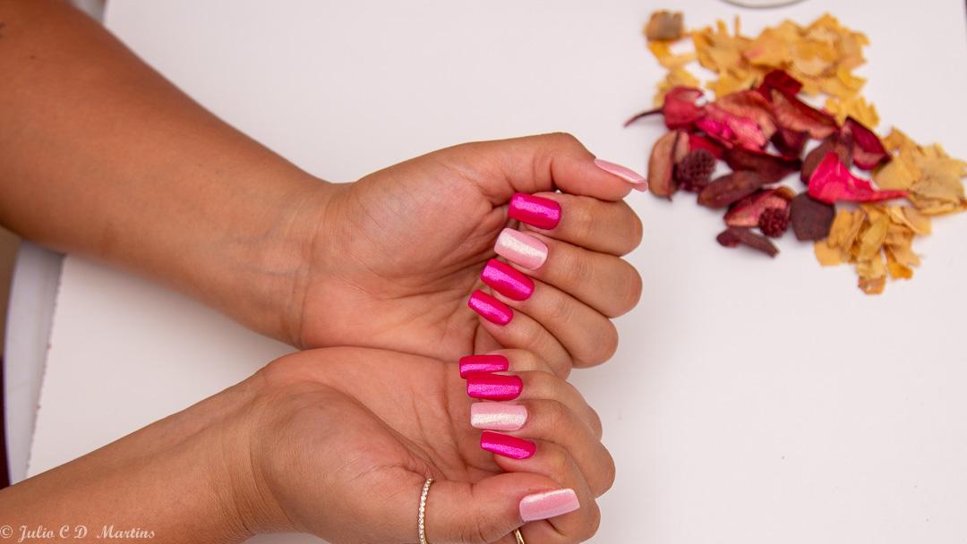 Unhas em Homenagem ao Outubro Rosa por Classy Beauty
