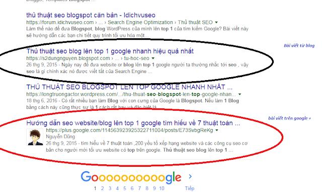 Cách seo blogspot lên top 1 trong 1 tuần