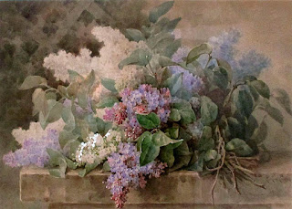 Watercolor painting by Early California Artist Paul de Longpre