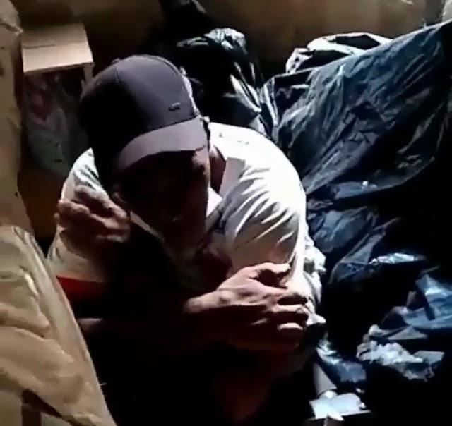 Anápolis: Homem é preso ao tentar furtar residência, ele estava escondido em local inusitado