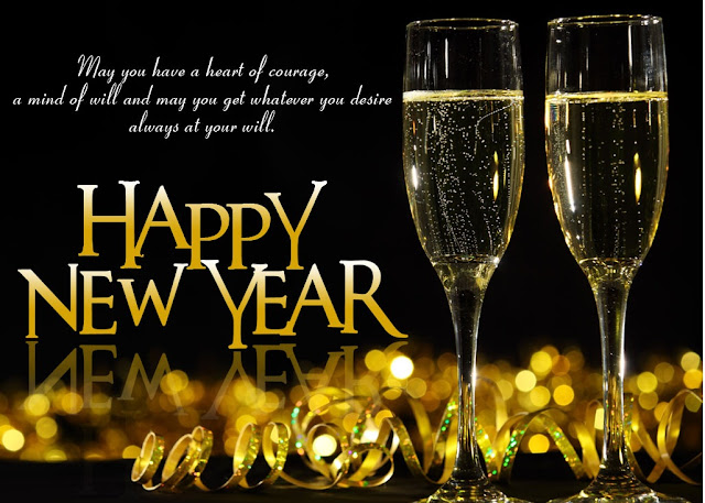 Happy New Year Facebook Status Wishes Greetings