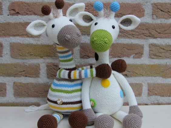 Girafa Nessa Amigurumi | Bichinhos de croche, Urso de crochê ... | 422x564