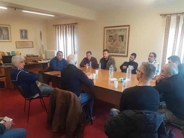 Συνάντηση του Αντιδημάρχου Ναυπλιέων Α. Λυκομήτρου με συλλόγους υγειονομικού και τουριστικού ενδιαφέροντος