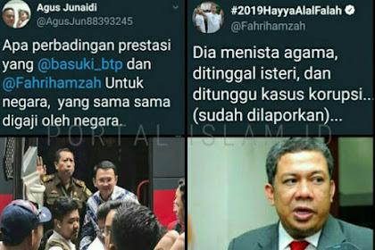 Telak! Netizen Ini Tanya Perbandingan Prestasi Antara Fahri dan Ahok, Ini Jawaban SUPER JLEB Fahri Hamzah