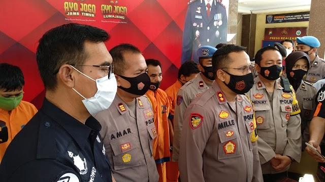 Apresiasi Buat Polres Lumajang Berhasil tangkap 4 Tahanan yang Kabur