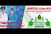 Camat Nanga Pinoh Sonten Mengucapkan Selamat Hari Raya Idul Fitri