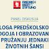 Poziv na panel diskusiju : ULOGA PREDŠKOLSKOG ODGOJA I OBRAZOVANJA U PRUŽANJU JEDNAKIH  ŽIVOTNIH ŠANSI