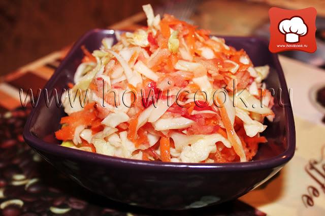 рецепт легкого салата пп