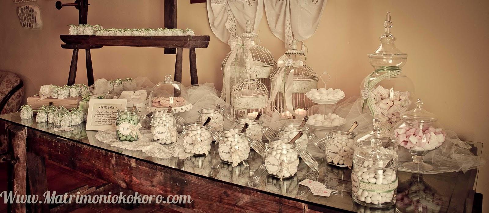 Kokoro sposi matrimoni battesimi bomboniere padova treviso - Confettata matrimonio a casa ...