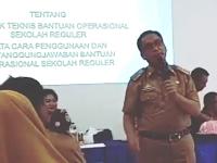 Disdik Makassar Sosialisasi Permendikbud No 3 Tahun 2019 Tentang Juknis BOS (Bantuan Operasional Sekolah)